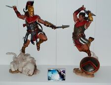ASSASSINS CREED ODYSSEY ALEXIOS DISPLAY PLASTIC LOGO WITH SUPPORT STAND