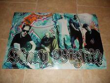 Limp Bizkit Fred Durst Sam DJ Lethal Signed Autograph Poster 22x34 PSA Guarantee