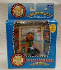 NEW 1995 Tyco Vermont Teddy Bear Pocket Collection Sweet Shop Bear 180457