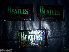 THE BEATLES SPORTS TIME - 3 UNOPENED PACKS 9 TRADING CARDS PER PACK 27 CARDS !