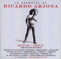SEALED - Lo Esencial De Ricardo Arjona CD NEW 3 CD's + 1 DVD BRAND NEW