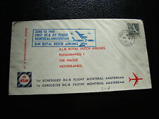 CANADA - enveloppe 13/6/1960 (montreal/amsterdam) (cy22) (A)
