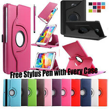 Smart 360 Rotating Leather Stand Case Cover For Samsung Galaxy Tab A T580 T585