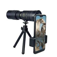 4K Telescopio Monocular Zoom 10-300X40mm Super Telefoto portátil