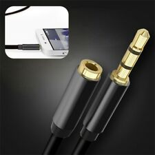 Stereo 3.5mm Audio Jack Extension Cable Male to Female Headphone Aux Cord 4~Pole