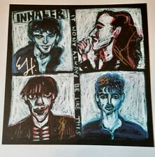 More details for inhaler it won't always be like this noel fielding cover design signed print
