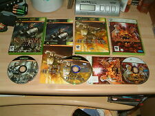 KINGDOM UNDER FIRE THE CRUSADERS + HEROES + CIRCLEOF DOOM...XBOX & 360 GAMES PAL