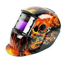 Pro Solar Auto Darkening Welding Helmet Arc Tig Mig Skull Mask