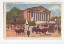 Palais Bourbon Paris France Vintage Postcard 363a