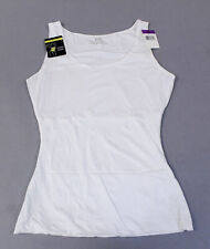 Maidenform Women's Flexees Comfort Devotion Tank Top AN3 White Size 2XL NWT