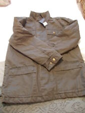 GREENWOODS BROWN CASUAL JACKET SIZE LARGE NEW