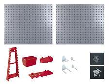 2 panneaux mural porte outils avec 34 accessoires pour ateliers