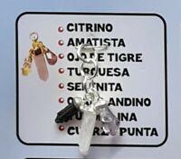 PIEDRAS DE CUARZO 1 PCS DINERO SUERTE SALUD Y PROTECCION ORACION E INSTRUCCIONES