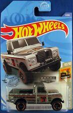 2020 Hot Wheels Baja BlazersZAMAC LAND ROVER SERIES III PICKUP