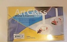 LS Arts Flip Flop Wine Glass Charms 6-Piece Set NEW