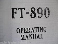 YAESU FT-890 (PHOTOCOPY INSTRUCTION MANUAL ONLY)...........RADIO_TRADER_IRELAND.