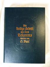 Die Heilige Schrift des Alten Testaments; Gustave Doré limitierte Lederausgabe