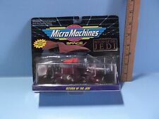 Micro Machines Return of the Jedi  At-St, Desert sail Barge, B-Wing Starfighter