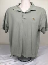 Baleno Mens Polo Shirt Short Sleeve Golf Knit Embroidered Light Green Size XL