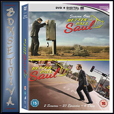BETTER CALL SAUL - COMPLETE SEASONS 1 & 2    **BRAND NEW DVD BOXSET*