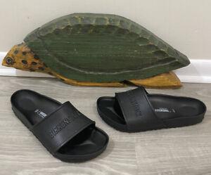 Men Birkenstock Barbados EVA Slides Pool Beach Sandals Black Men's Size 13 (46)