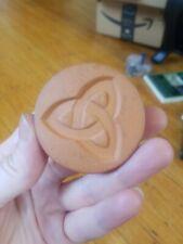 Rycraft Ceramic Cookie Stamp Irish Celtic Triquerta