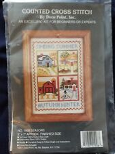 "Deco Point ""Seasons"" Cross Stitch Kit 5"" x 7"""