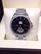 Tag Heuer Grand Carrera WAV5115 GMT-Diamante Bisel-Negro Dial-b&p - 2014
