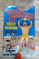 WWF LJN Hulk Hogan Poster Must See!! Vintage Titan Sports