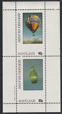 GB Locals - Bernera 2831 - AVIATION - BALLOONS perf sheetlet unmounted mint