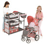 Hauck Play 'N' Go Twin Doll Play Set Stroller and Play Center dolls not included