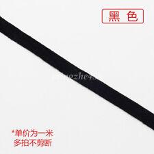 1Yard Cotton Binding Tape Bias Ribbon Strap Sewing Webbing Trimming 1cm 19Colors