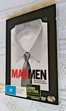 Mad Men : Season 2 (DVD, 3-Disc Box Set) R-4, LIKE NEW, FREE POST IN AUSTRALIA