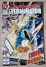 DEATHSTROKE THE TERMINATOR #24 - 1ST PRINT DC COMICS (1993)