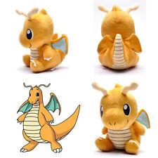 "Anime Pokemon Dragonite Cute Pokedoll Soft Stuffed Plush Doll Toy Kids Gift 6"""