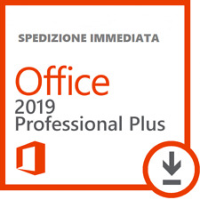 MICROSOFT Office 2019 Professional Plus 32/64 Bit Licenza originale ESD ORIGINAL