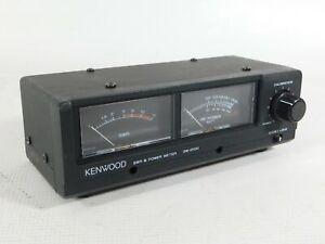 Kenwood SW-2100 Ham Radio SWR Power Meter Wattmeter (good condition)