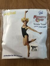 *New* Mighty Grip Black Trixie Toes For Pole Dance Sport Fitness Jazz Size L