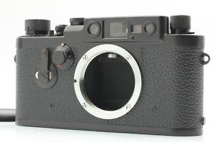 Rare Black repaint【TOP MINT】 LEICA IIIg Rangefinder 35mm Film Camera From JAPAN