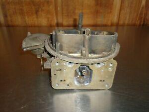 Holley 4160 4-barrel Carburetor Main Body 6619 600 CFM Vacuum Secondary Carb
