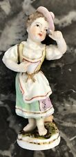 Superbe petite figurine en porcelaine de Berlin (Meissen, KPM...) 1911 (Acc) XIX