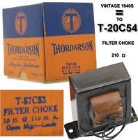THORDARSON POWER TRANSFORMER FILTER CHOKE T-57C53 Same as T-20C54