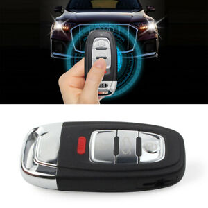 Replacement Smart Remote Key Shell Case Fob 4Button For Audi A3 A4 A5 6 Q5 Q8 S4