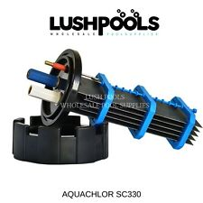 AQUACHLOR / CHLOROMATIC  SC330 Self Cleaning Chlorinator Cell -  5 YEAR Warranty