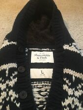 Men's Abercrombie & Fitch Hooded Sweater Size L