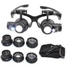 Gafas lupa de reparación - 10x 15x ampliación 20x y 25x