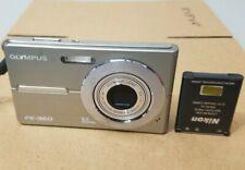 Olympus FE FE-360 8.0MP Digital Camera - Silver *GOOD/TESTED*