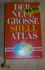 shell mair auto buch atlas strassen D euro alt top vintage oldtimer deko 1994/95