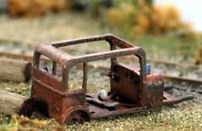 Jordan Highway Miniatures RUSTED out Sedan Skeleton .LEFT to RUST HO Scale