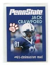 JACK CRAWFORD 2010 Penn State Second Mile Junior DALLAS Cowboys DE QUANTITY